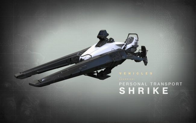 Shrike Vehicle Revealed!