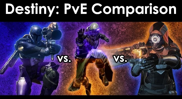 PvE Class Comparisons