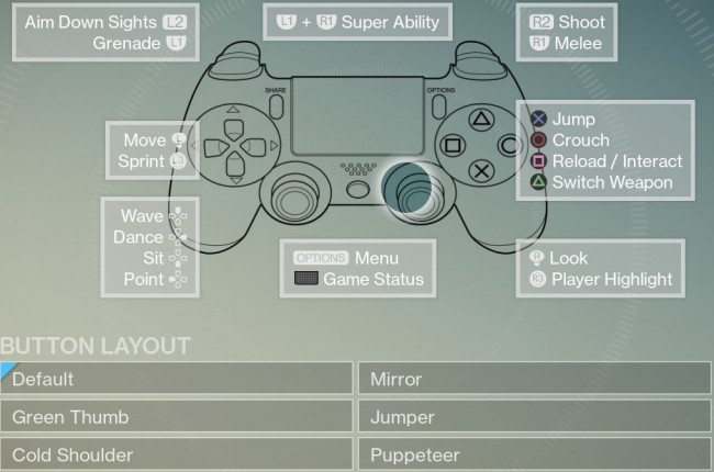Best Controller Layout?