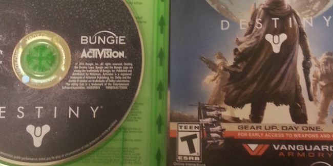 """Destiny will require """"up to 40 GB"""""""