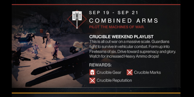 Destiny Events Incoming