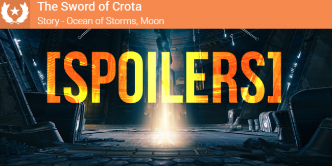 [Spoilers] Sword of Crota