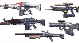 Exotic Weapons Guide