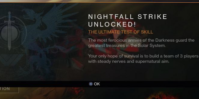 All Skulls, Nightfall Strikes