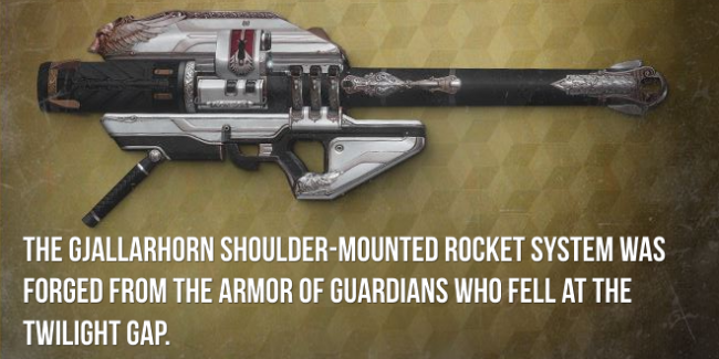Gjallarhorn Exotic Review