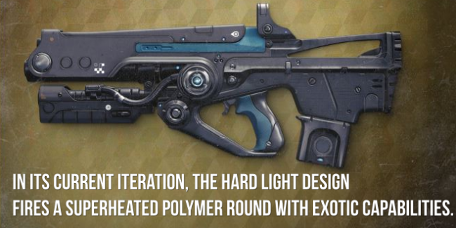 Hard Light Exotic Review