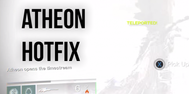 Atheon Controversy