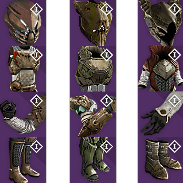 Gallery images and information destiny hunter helmets