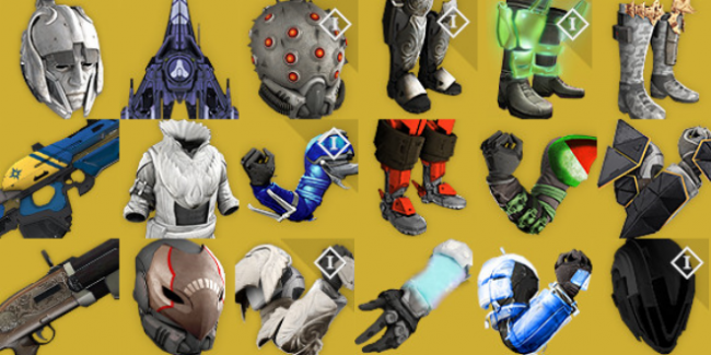 "NEW Exotics, Arenas, ""Quests"""