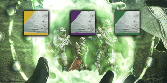 First Look: Destiny Treasure Maps!