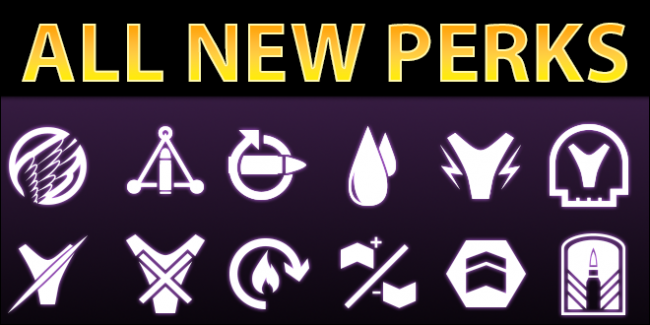 All New Weapon & Armor Perks