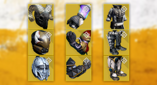 House of Wolves Exotic Armor Tiers