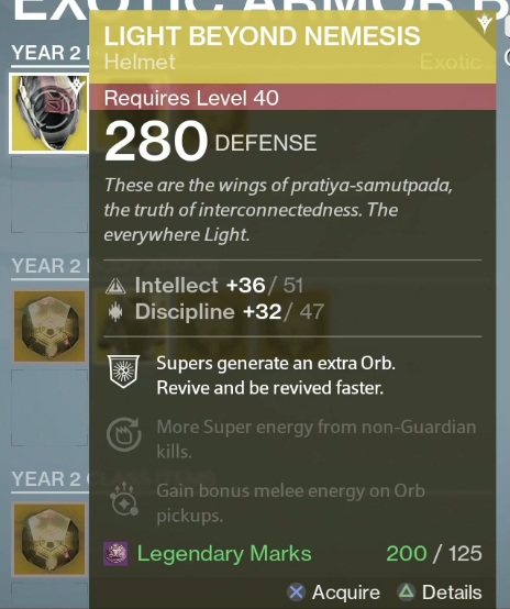 Vault space increased infusion swords to list two examples of exotics that you can upgrade the light beyond nemesis helm will be sporting intellectdiscipline when upgraded and will offer the malvernweather Images