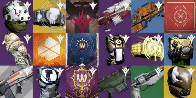 Database Update, New TTK Exotics