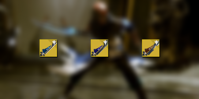 Exotic Sword Comparison