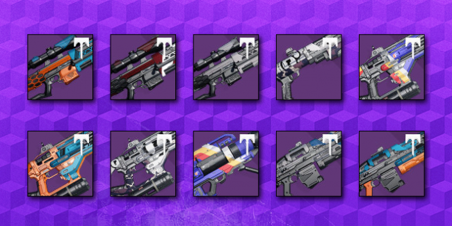 Recommended Special/Heavy Vendor Weapons