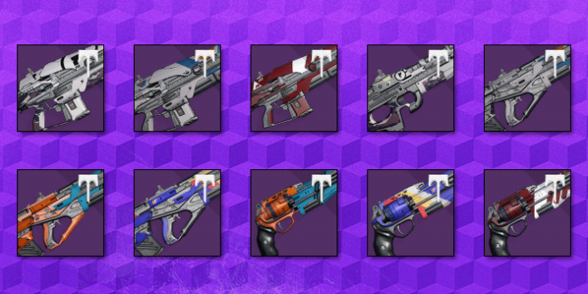 Recommended Primary Vendor Weapons